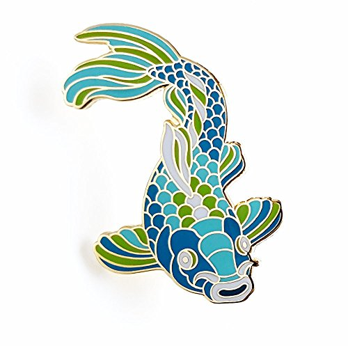 Pinsanity Koi Fish Enamel Lapel Pin