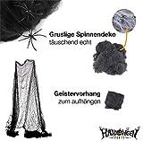 Halloween Deko Dekoration Grusel Set mit über 30 Teilen für Haus, Tisch & Garten - 2