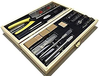 Tool Set for Hobby & Craft - Designed for Wood and Metal Modeling