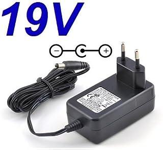 CARGADOR ESP ® Cargador Corriente 19V Compatible con Reemplazo Monitor Television Televisor TV LG 24MT47DC-PZ 24MT47DC-WZ Recambio Replacement