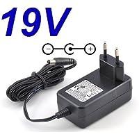 CARGADOR ESP ® Cargador Corriente 19V Reemplazo Monitor Televisor TV LG 28MT49S 28MT49S-PZ Recambio Replacement