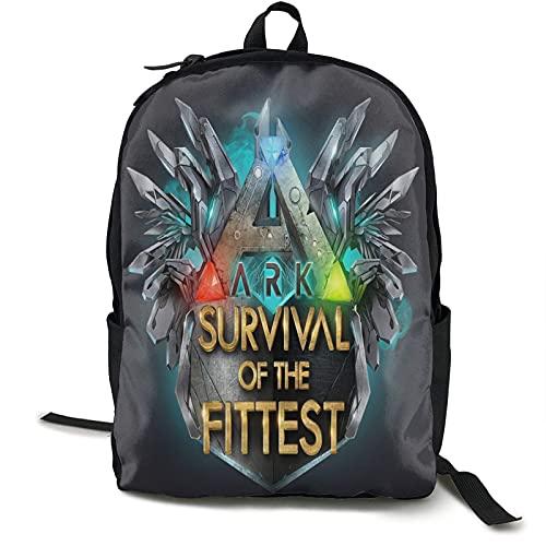 Ark Survival Evolved Csic Travel Bapa Notebook-Tasche mit großer Kapazität Schultasche Leisure Busin Computer Bag Modisch Einfach für Männer und Frauen
