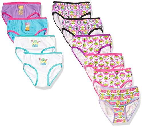 Star Wars Panty Multipacks, Baby Yoda 10pk girls, 4