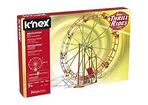 K'nex 41212 Thrill Rides. Noria Revolution. Juego de Construcción con Motor. 344 Piezas. A Partir de 7 años. (Ref