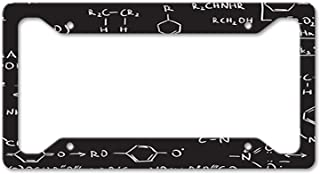 Style In Print Chemistry Code Auto Car License Plate Frame Tag Holder 4 Hole