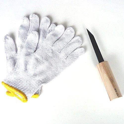 かき剥きナイフ&軍手セット
