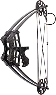 MILAEM Archery Compound Bow Hunting Triangle Bow 45lbs Short Axis Right Left Hand for Outdoor Hunting Competition Composite Bow