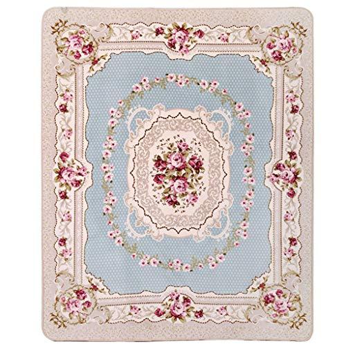 Tapis de Style européen Tapis de Salon de la Table Basse Molle Grand Tapis (130cm * 190cm) (Couleur : B, Taille : 200cm*240cm)