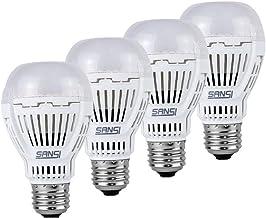 [Upgrade] SANSI 13W (100 Watt Equivalent) Soft Warm 3000K LED Bulbs 4-Pack, ETL Listed, Bright 1600lm