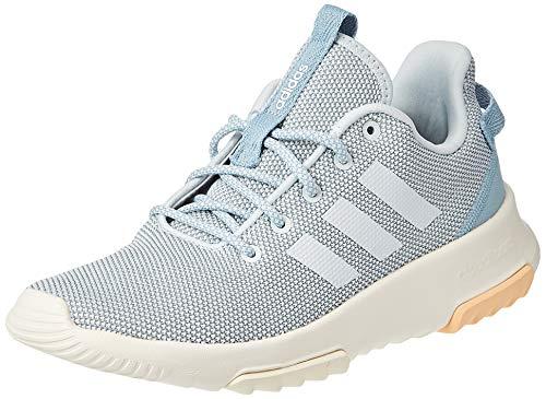 adidas Performance Racer Sneaker Damen grau/hellblau, 4.5 UK - 37 1/3 EU - 6 US