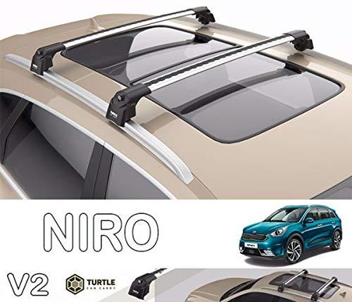 Otho Kia Niro Roof Rack Cross Bar - Baca para coche