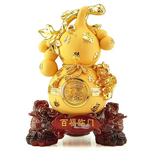 Feng Shui Estatuas Casa de la Paz proteger la riqueza de la decoración de Lucky estatua decoración artesanal de regalo-Decoración de Suerte y Riqueza perfecto for su hogar u oficina Riqueza Estatuilla