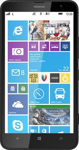 Nokia Lumia 1320 Smartphone, 8 GB, Nero [Italia]