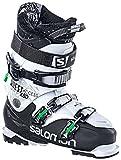 Salomon Chaussures de Ski pour Homme Noir/Blanc/Vert 30 1/2