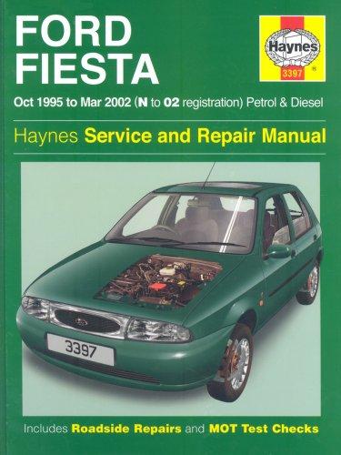 Ford Fiesta Manual de servicio y reparación: Gasolina y Diesel 1995-2002 (Haynes Manual de servicio y…