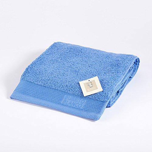 Burrito Blanco Toalla Lavabo   Toalla de Mano   Toalla de Baño   Toalla 100% Algodón   Toalla 50x100   Color Azul Marino