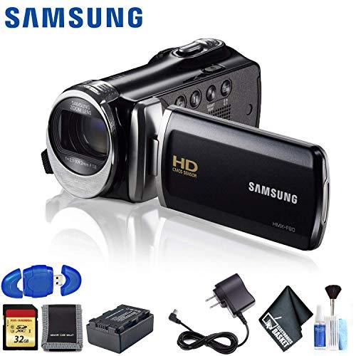Find Discount Samsung HMX-F90 HD Camcorder (Black) Standard Kit