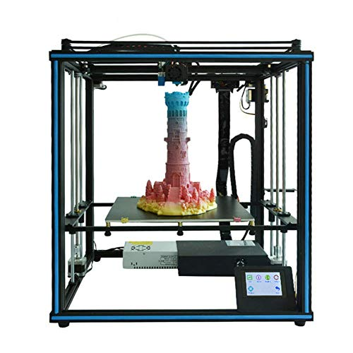 LJW Industrie DIY 0,1 mm FDM 3D-printer een metaallegering multicolor print modelbouw 658 * 580 * 639 mm