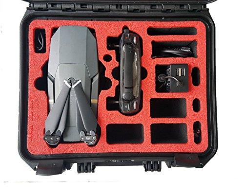 Profi Transportkoffer passend für DJI Mavic Pro und Platinum mit Platz für 4 Akkus und Zubehör von MC-CASES - Made in Germany - Outdoor Koffer - IP67 Wasserdicht - 5 Jahre Garantie - Kompakt V2.0