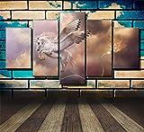37Tdfc modern Design Poster Zimmer Dekoration Pegasus,