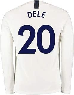 DELE Alli #20 Men's Football Sportswear - Long Sleeves, Sports Jersey T-Shirt Fan Shirt (Color : White(B), Size : S)