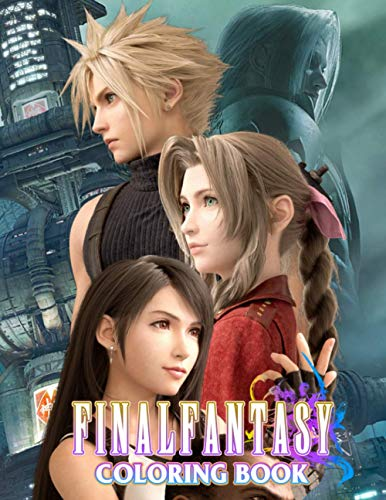 Final Fantasy Coloring Book: Legendary Video Game Franchise and Cultural Treasure | Adult Coloring Book