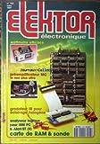 ELEKTOR ELECTRONIQUE [No 153] du 01/03/1991 - WATTMETRE EFFICACE - PREAMPLIFICATEUR MC LE NEC PLUS ULTRA - GRADATEUR IR POUR ECLAIRAGE HALOGENE - ANALYSEUR LOGIQUE POUR IBM PC - CARTE DE RAM ET SONDE.