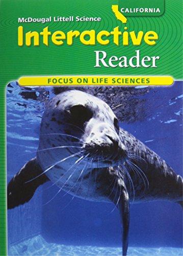 McDougal Littell Science: Focus on Life Science InterActive Reader (Student) Grade 7