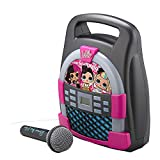 EKids KIDdesigns L.O.L. Surprise! Remix   Bluetooth Portable MP3 Karaoke Machine Player with Light Show Store Hours of Music with Built in Memory Sing Along Using The Real Working Microphone