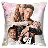 The Ace Family Pillow Covers for Couch Sofa Home Decor Throw Pillow Case Decoration Cool Personality Pillowcase 18x18 Inches