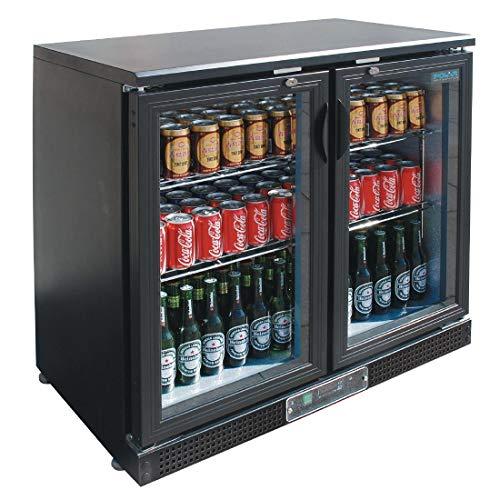 Arrière-Bar Réfrigéré Double Porte 168 bouteilles - Polar