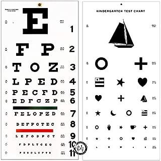 Elite Medical Instruments ® Kindergarten and Snellen Wall Eye Charts 22