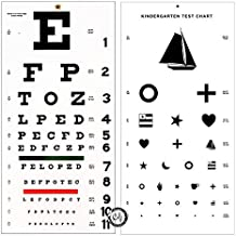Elite Medical Instruments ® Kindergarten and Snellen Wall Eye Charts 22