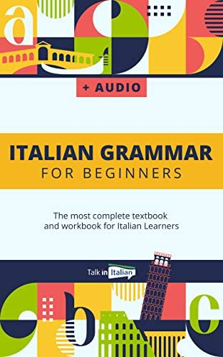 Italian Grammar For Beginners Audio Download The most complete textbook and workbook for Italian product image
