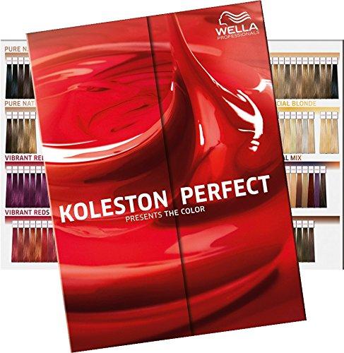 Wella Koleston Color Board