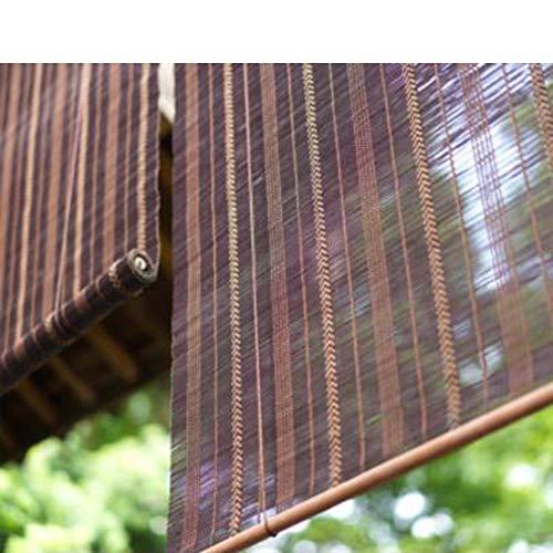 Türvorhang Bambus Vorhang Vorhang Wintergarten Home Rollladen (50% Shading Rate)