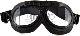 BJ Global Gafas de casco ajustables modernas y universales para motocicleta