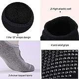 EQLEF ® 3 Paia Da donna Anti-Slip Grip Allenamento Yoga Socks