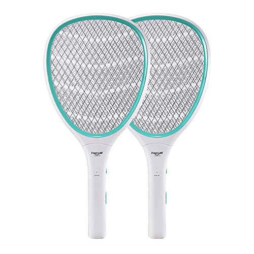Faicuk Bug Zapper Racket Electric Fly Swatter (2 Pack