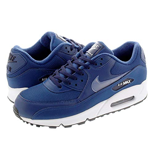[ナイキ] AIR MAX 90 ESSENTIAL MIDNIGHT NAVY/WHITEUS9-27.0cm [並行輸入品]