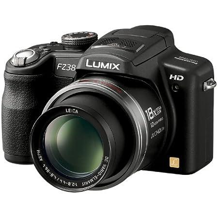 パナソニック デジタルカメラ LUMIX (ルミックス) FZ38 ブラック DMC-FZ38-K