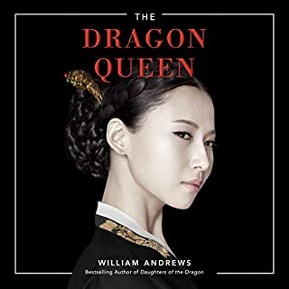 The Dragon Queen audiobook cover art