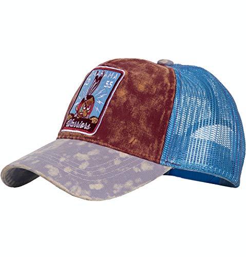 King Kerosin Herren Trucker Cap | Stickerei | Mesh | Vintage Optik Oklahoma W.