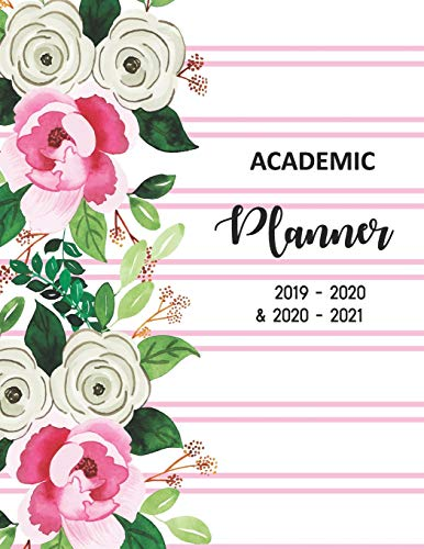 Academic Planner 2019-2020 and 2020-2021: 2 Year academic and 3 year calendar Daily, Weekly and Monthly Calendar and Planner Academic Year July 2019 - ... academic planner July2019 - June2021, Band 4)