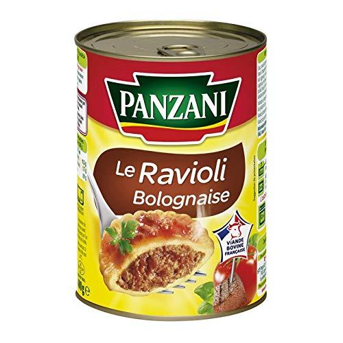 PANZANI - Ravioli Bolognaise La Boîte De 400G - Lot De 4 - Livraison Gratuite