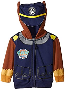 Nickelodeon Little Boys  Paw Patrol Chase Toddler Costume Hoodie Navy 4T