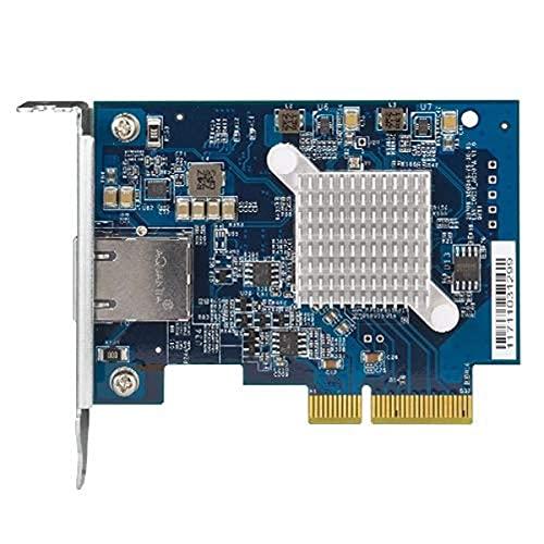 QNAP QXG-10G1T - Single-Port, 5-Speed 10 GbE (NBASE-T - RJ45) Netzwerkerweiterungskarte