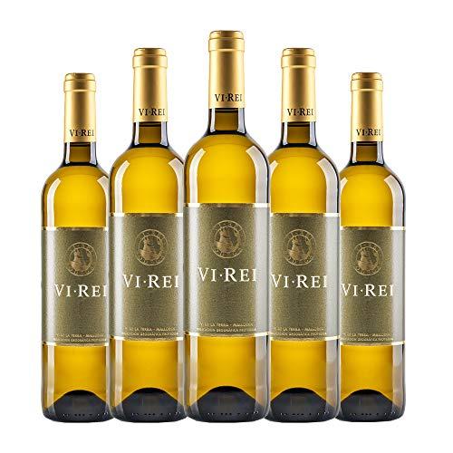 VI REI BLANCO 2019. Vino blanco. Variedad de uva: Prensal Blanc, Chardonnay. Pack de 6 botellas.