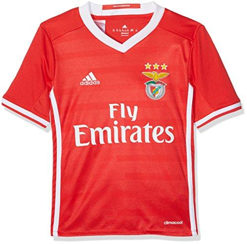 adidas Kinder Lissabon Heimtrikot Replica, Benfica Red/White, 176
