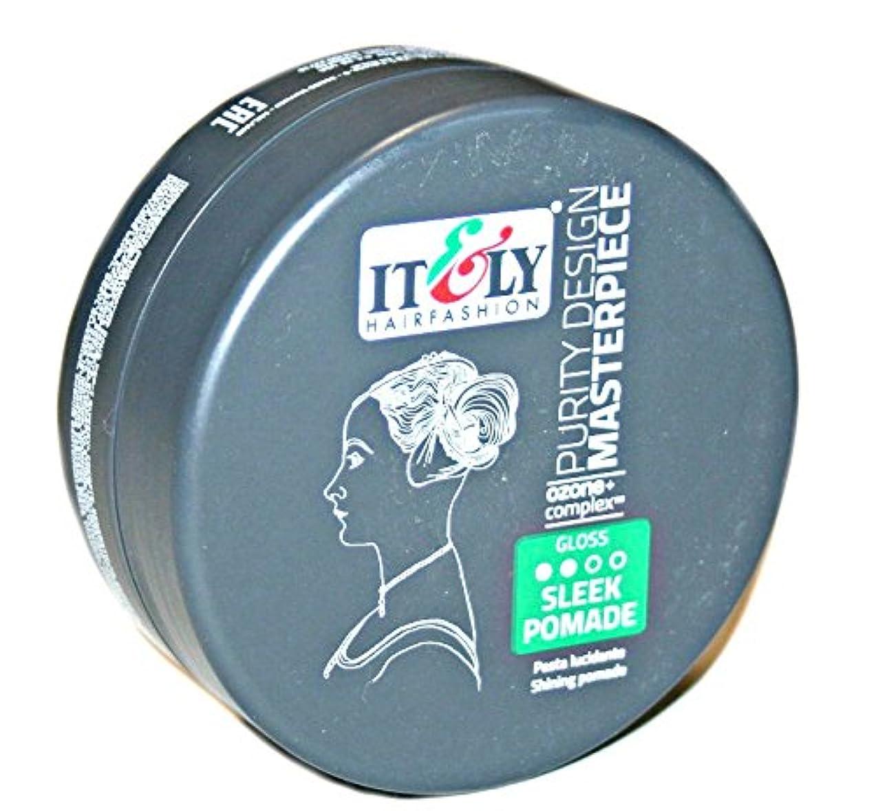 徹底叱る判読できないIT&LY Hair Fashion それ&LYマスターピースなめらかシャイニングポマード、3.38液量オンス